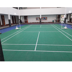Badminton Flooring Outdoor'