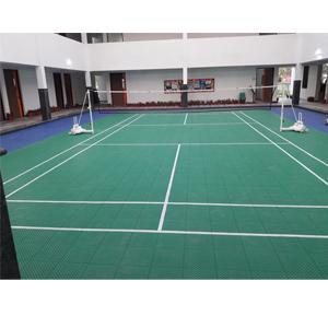 Badminton Flooring Outdoor'