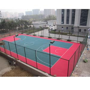 Basket Ball Flooring Outdoor'