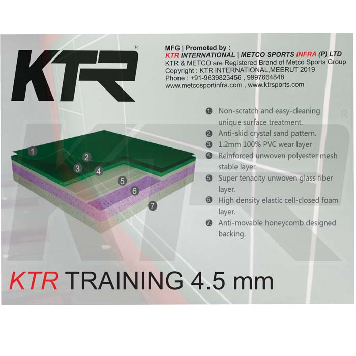 KTR Badminton Training (Max 4500)